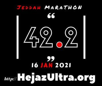 Jeddah Marathon 16 Jan 2021
