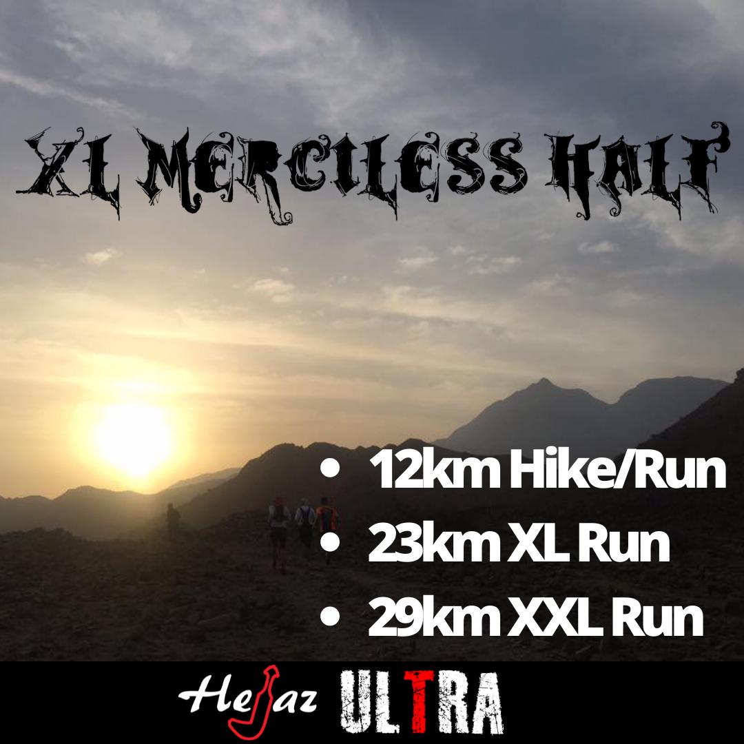 XL Merciless Half Marathon