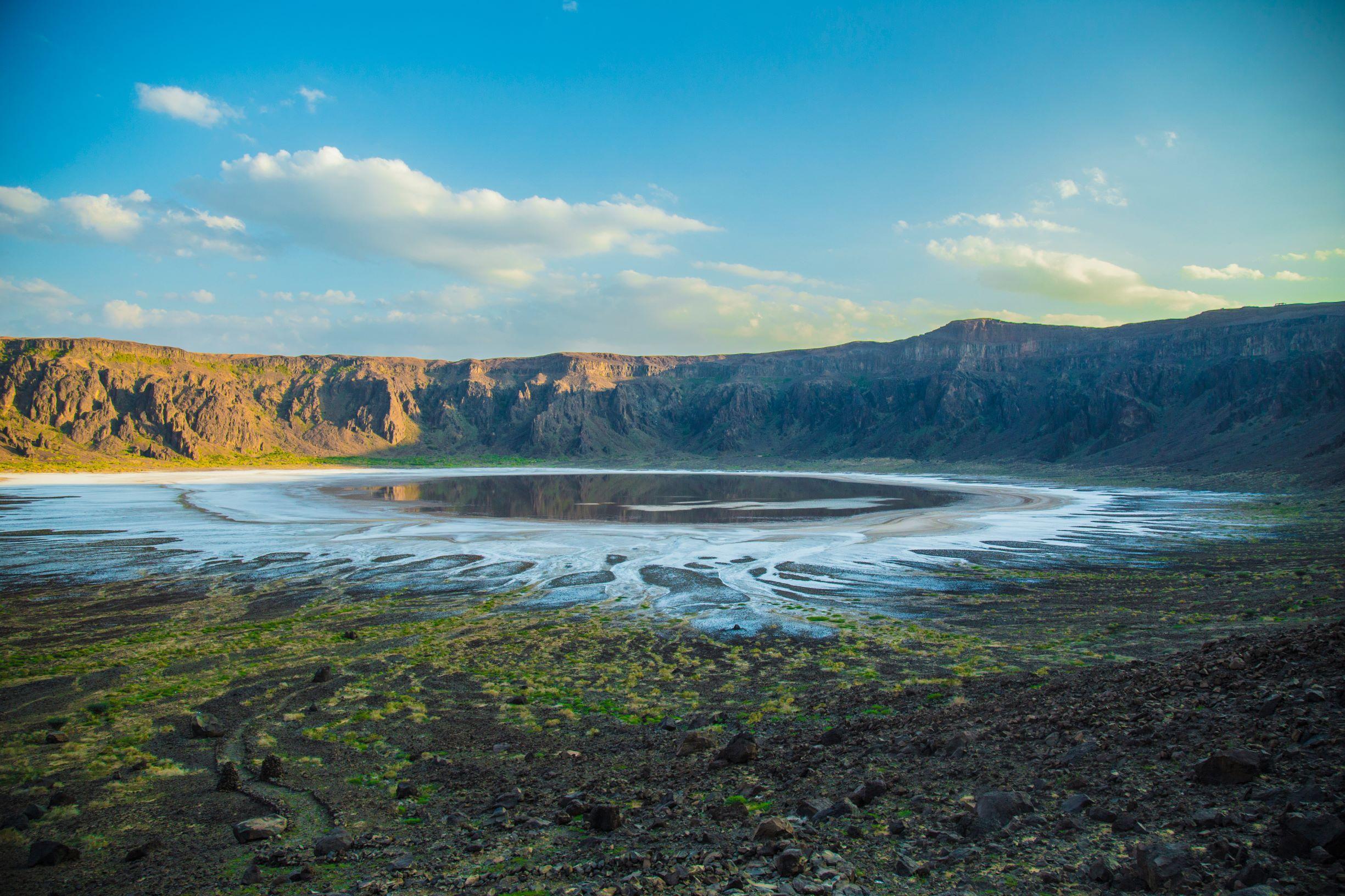 Wahba Crater Half