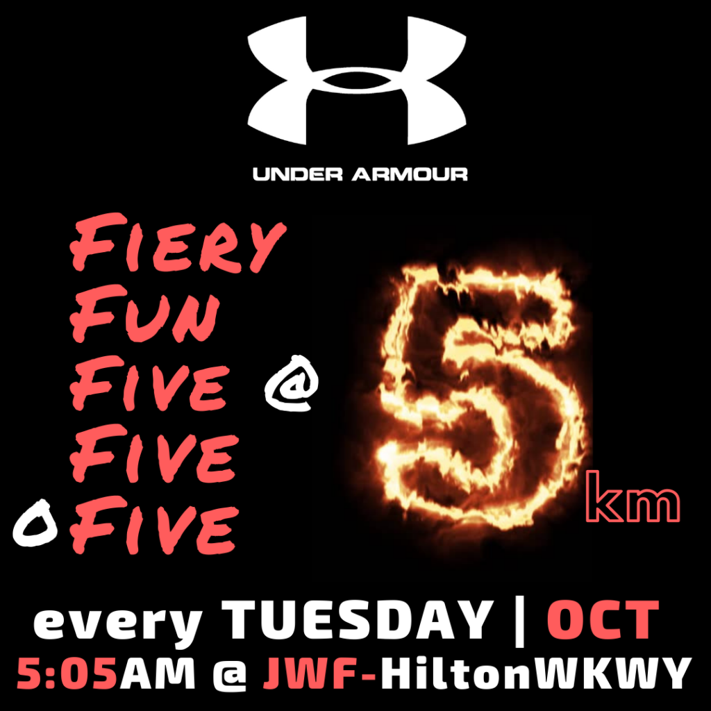 Fiery Fun Five@ Five o Five OCT